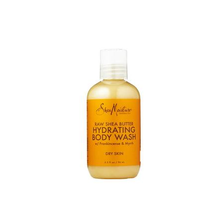 SheaMoisture Raw Shea Butter Body Wash TRVL