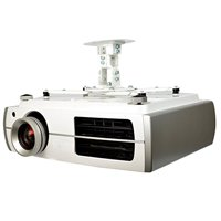 QG-PM-002-WHT-S Universal Projector Ceiling Mount, White