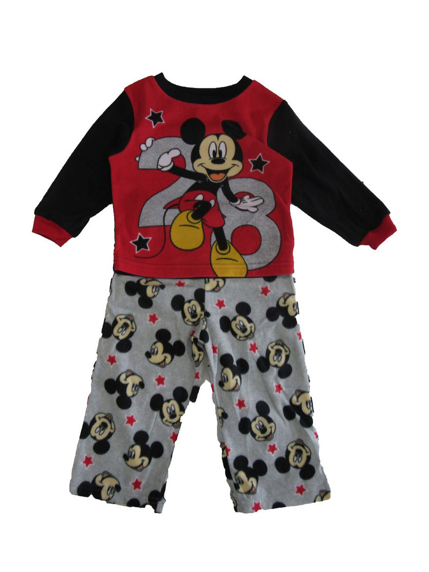 Mickey Mouse Disney Boys 2-Piece Pajama Set