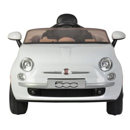 Best Ride on Cars Fiat 500 12V- White