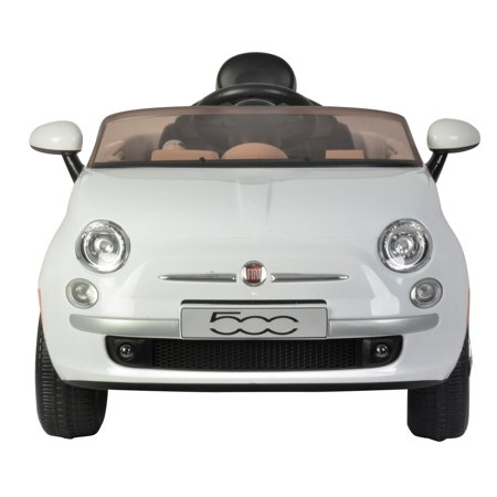 Best Ride on Cars Fiat 500 12V- White