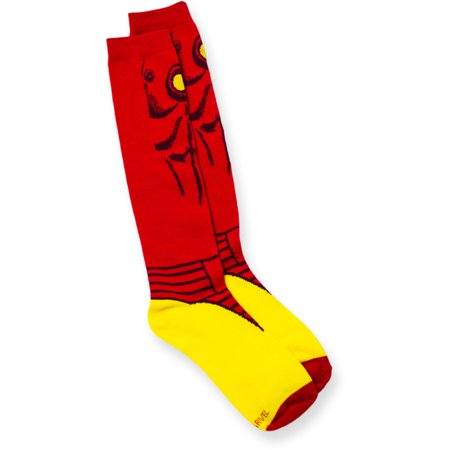 c6ab2f496da Marvel - Ladies Iron Man Knee High Socks - Walmart.com