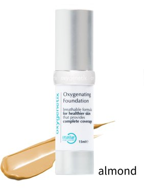 Oxygenetix Oxygenating Foundation 15ml 0.5oz Almond