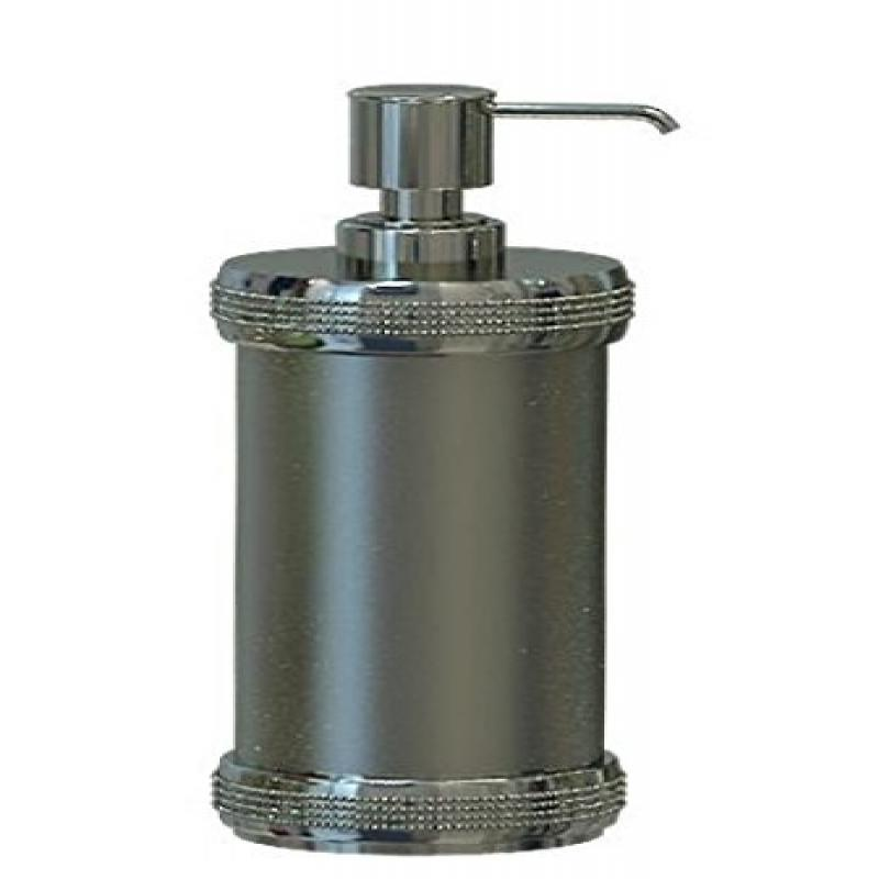 nu steel Soap/Lotion Pump, Steel Brushed