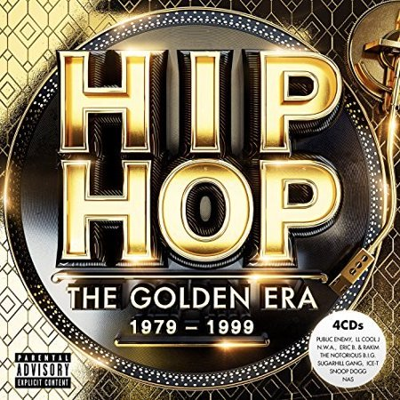 Hip Hop The Golden Era / Various (CD) - Halloween Party Music Hip Hop