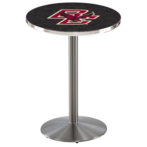 NCAA Pub Table by Holland Bar Stool, Stainless - Boston College, 36'' - L214
