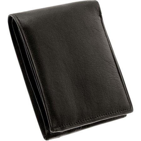 Bi-Fold Lambskin Mens Leather Wallet