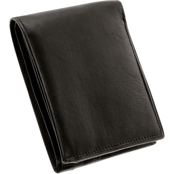 Bi-Fold Lambskin Mens Leather Wallet