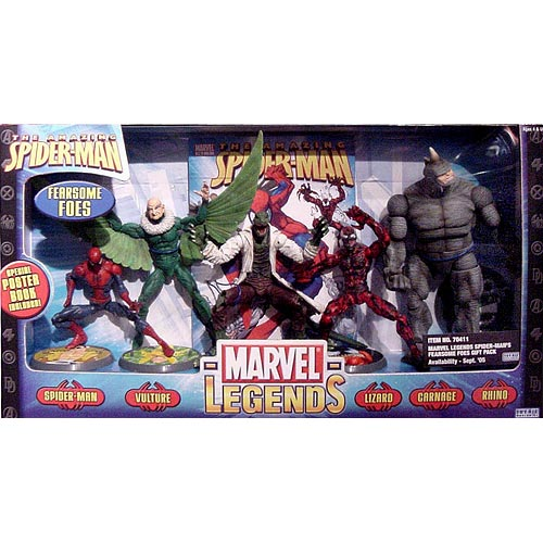 Toy Biz Marvel Legends Fearsome Foes Gift Pack