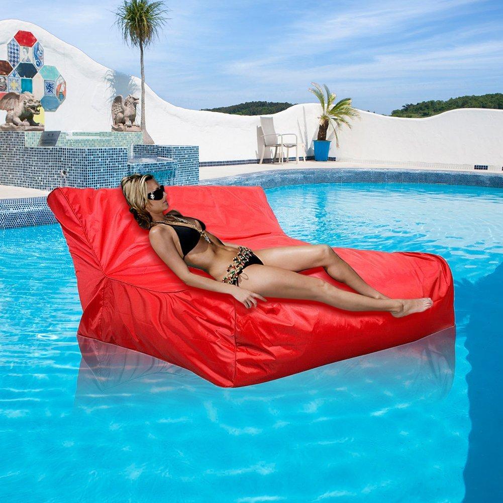 Yosoo Floating Bean Bag Cover Waterproof Swimming Pool