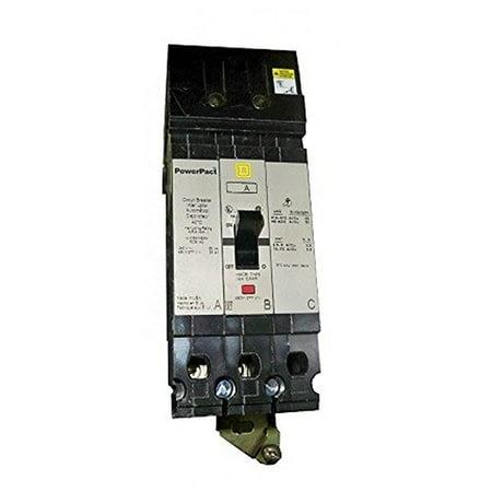 Square D FJA34100 3 Pole 100 Amp 480v 65kA PowerPact Circuit Breaker