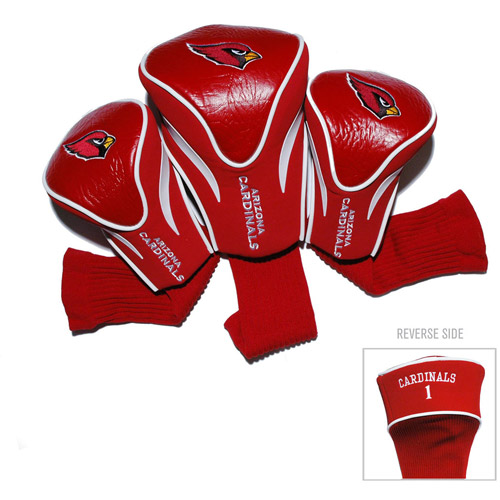 Team Golf NFL Arizona Cardinals 3 Pack Contour Head Covers