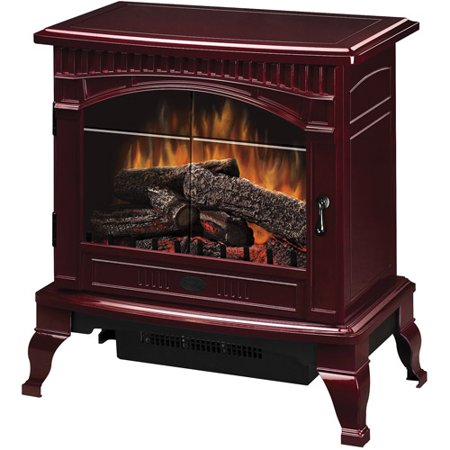 Dimplex Traditional Electric Wood Stove, Cranberry - Walmart.com