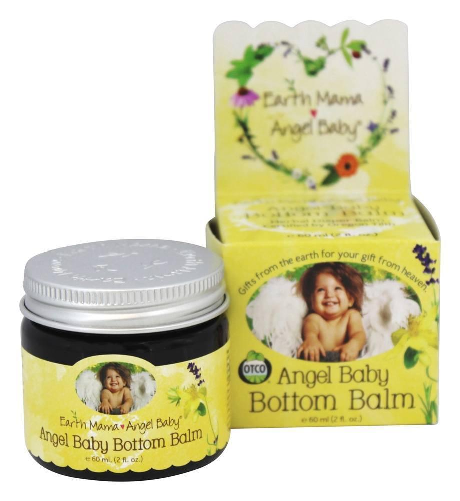 Earth Mama Angel Baby Bottom Balm Herbal Diaper Rash 2 oz.(pack of 12) by Earth Mama Angel Baby