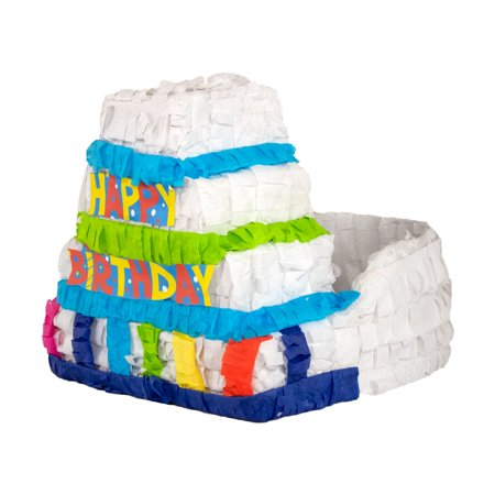 Birthday Cake Centerpiece Party Piñata, Individually Hand Crafted - Birthday Centerpiece Ideas For Adults