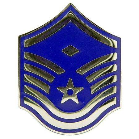 U.S. Air Force E7 First Sergeant Pin 1 7/16