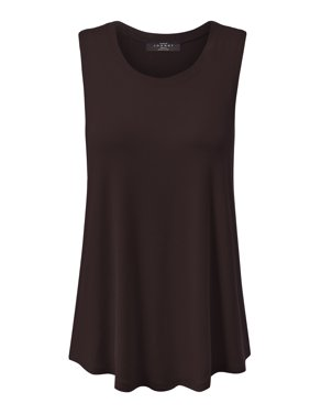 dc9f9fb01a1f7 Product Image Made by Johnny MBJ WT902 Womens Basic Loose Fit Tank Top XXXL  Heather Charcoal