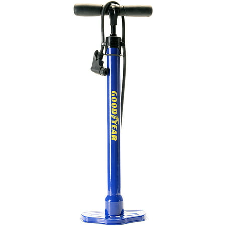 Goodyear Bicycle Pump for Schraeder Bike Valves,
