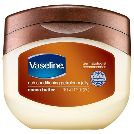 (2 pack) Vaseline Cocoa Butter Petroleum Jelly, 7.5 oz