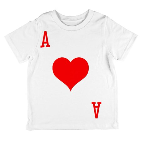 Halloween Ace of Hearts Card Soldier Costume All Over Toddler T Shirt