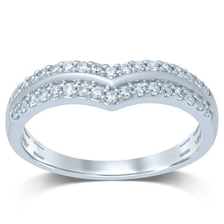 Diamond Jewel 10K Gold 1/3 Cttw White Diamond Fashion Ring