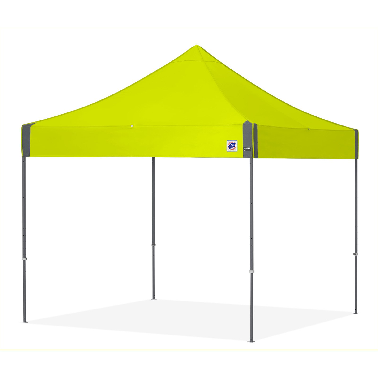 E-Z UP Enterprise 10 x 10 ft. Canopy with Carbon Steel Frame