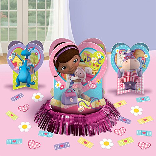 Doc McStuffins Party Table Decorations