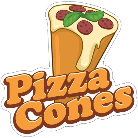 Truck Decals Graphics - Pizza Cones 12