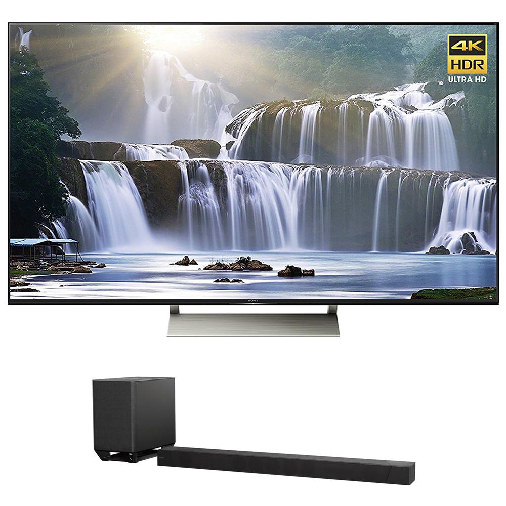 Sony XBR-55X930E 55-inch 4K HDR Ultra HD Smart LED TV (2017 Model) w  Sony HT-ST5000... by Sony