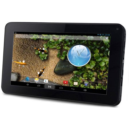 """Sungale ID716WTA with WiFi 7"""" Touchscreen Tablet PC Featuring Android 4.4 (KitKat) Operating System"""