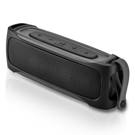 Blackweb Rugged Stereo Bluetooth Speaker Ipx5 Splash Proof