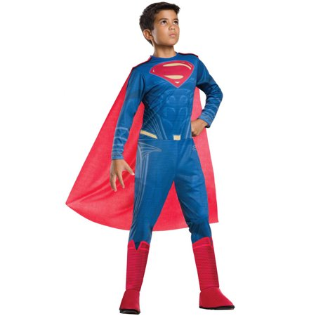 Justice League Boys Superman DC Superhero Childs Halloween Costume - Halloween Costume Superhero
