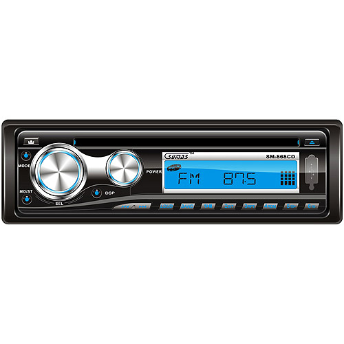 Sumas Media Automobile Music Player with AM/FM and flash drive Port