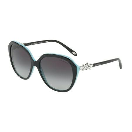 Tiffany 0TF4132HB Full Rim Square Womens Sunglasses - Size 57 (Gray (Sell Sunglasses)