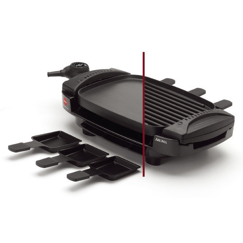 Aroma 10.59'' Non-Stick Grill Pan & Griddle