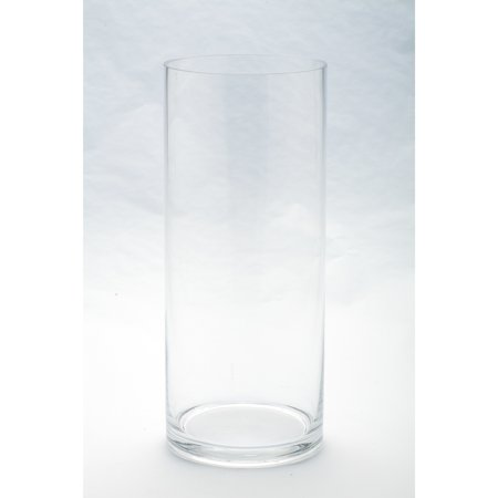 Diamond Star Corp. Clear Cylinder Vase