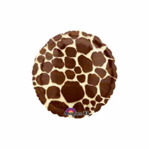 "Giraffe Print 18"" Foil Balloon"
