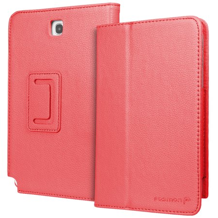 - Fosmon OPUS Series Leather Folio Stand Case for Samsung Galaxy Note 8.0 / N5100 - Red