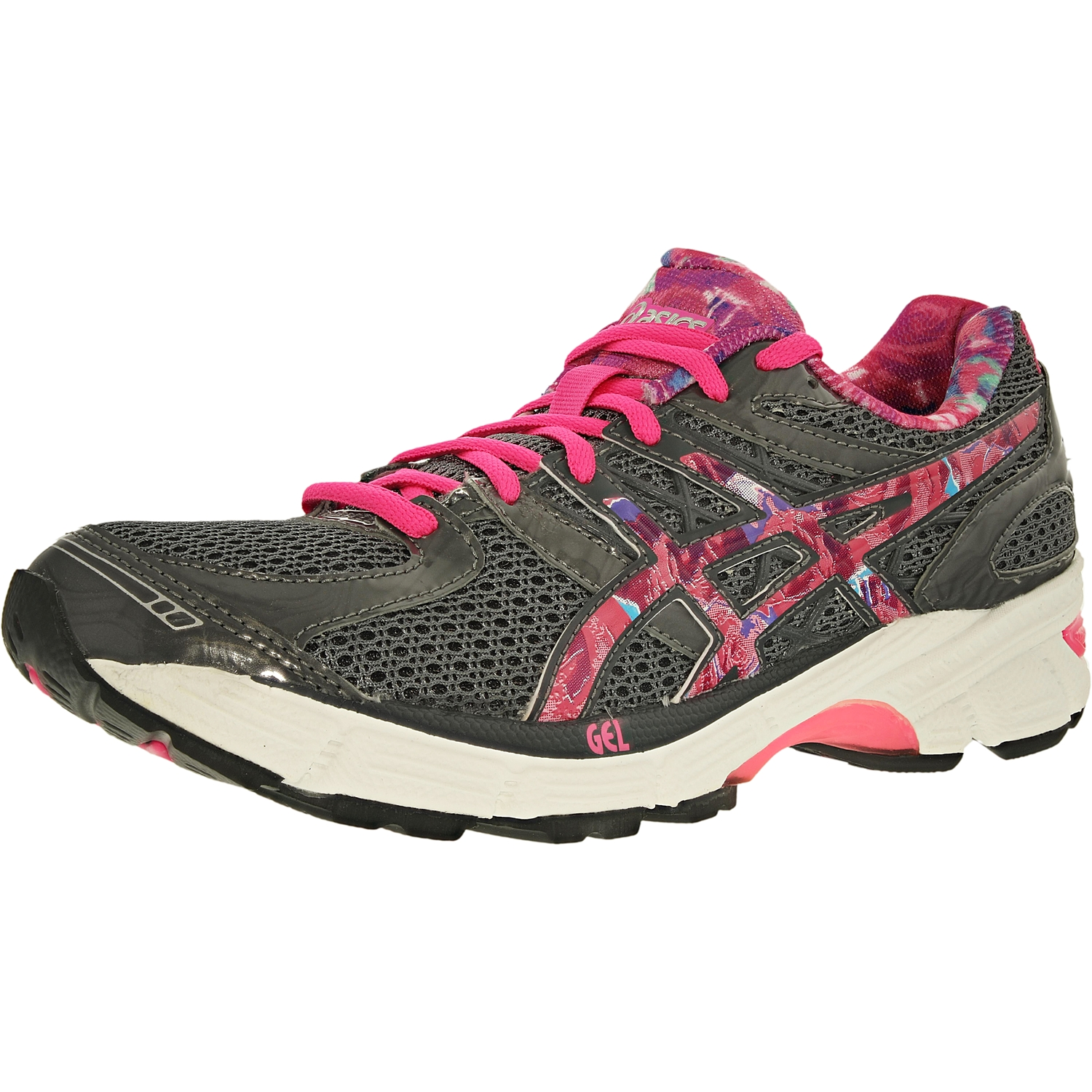 huge discount 2db76 adccc Asics Women's Gel-Enhance Ultra 3.0 Pr Titanium/Hot Pink/Pink Ribbon  Ankle-High Running Shoe - 6.5M