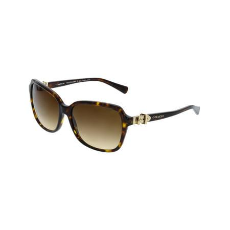 Coach Kids Sunglasses (Coach Women's Gradient HC8179-512013-58 Brown Square)