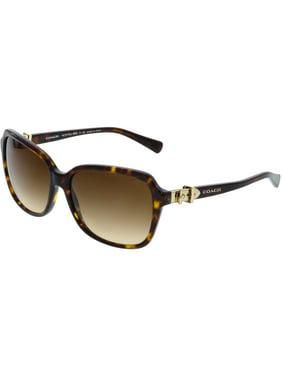 fe3465a8f1 Product Image Coach Women s Gradient HC8179-512013-58 Brown Square  Sunglasses