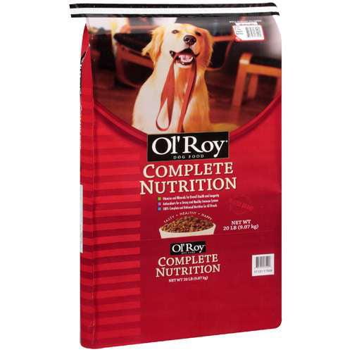 Ol' Roy: Complete Nutrition Dog Food, 20 lb