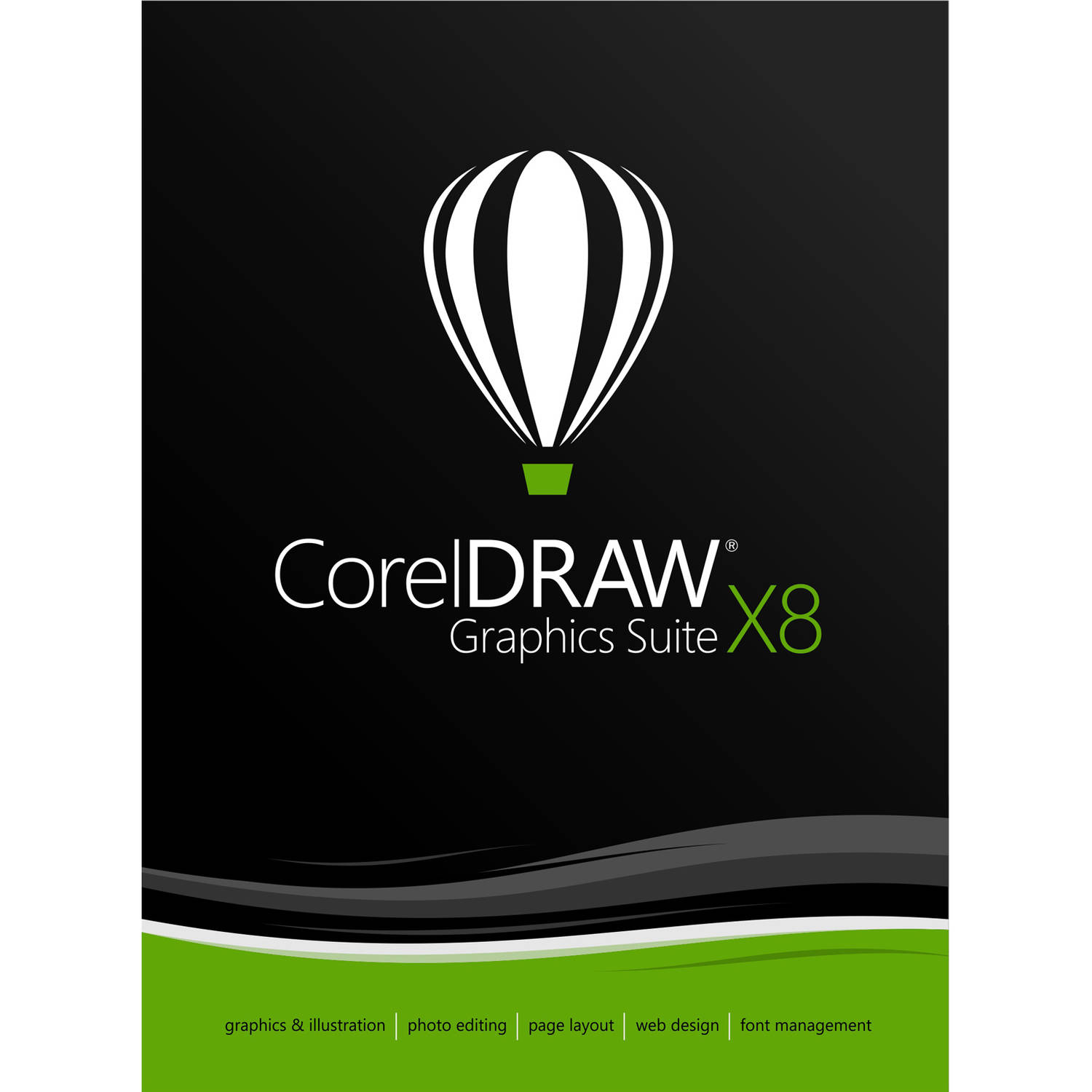 Corel ESDCDGSX8AM CorelDRAW Graphics Suite X8 (Email Delivery)