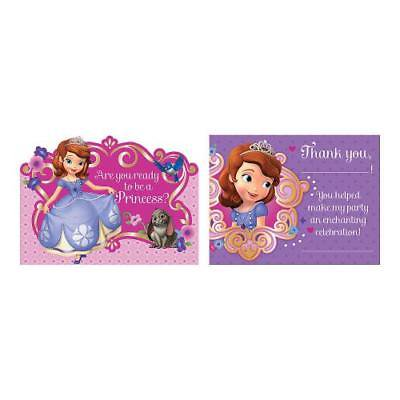 Sofia The First Invitations (IN-13622744 Sofia The First Invitations & Thank You Cards)
