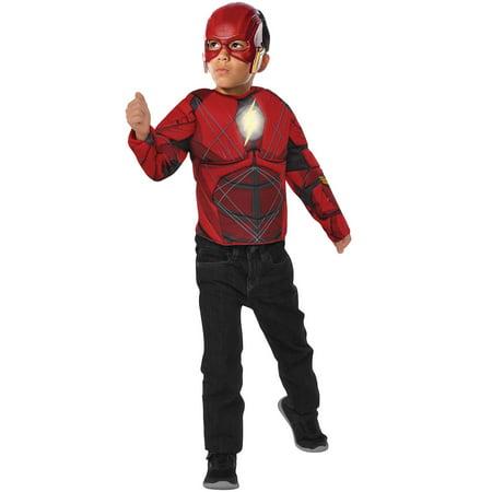 Flash Light Up Boys Costume To Set - Flash Boys Costume