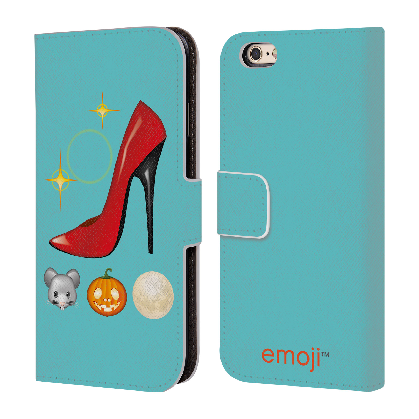 OFFICIAL EMOJI MOVIES AND SERIES LEATHER BOOK WALLET CASE COVER FOR APPLE IPHONE PHONES