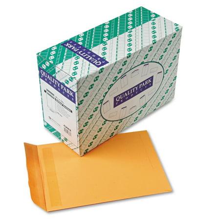 - Quality Park Redi Seal Catalog Envelope, 9 1/2 x 12 1/2, Brown Kraft, 250/Box -QUA43662
