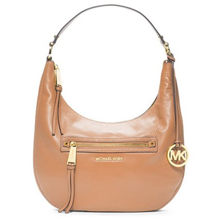 82a01ae940 Michael Kors - MICHAEL Michael Kors Rhea Zip Medium Zip Shoulder Bag in  Suntan - Walmart.com