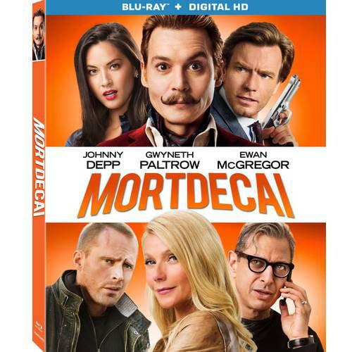 Mortdecai (Blu-ray + Digital HD) (With INSTAWATCH) (Widescreen)