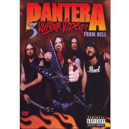 Pantera: 3 Vulgar Videos From Hell (Music DVD)